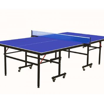 Professional Grade Folding Ping Pong Table Tennis Table and Net Set 740