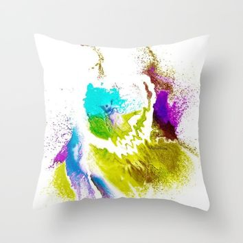 VIOLA WOO COLLECTIONS Throw Pillow by violajohnsonriley