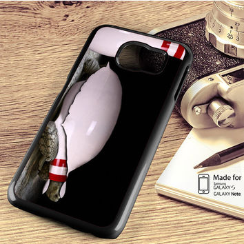 Bowling Awesome Turtle Samsung Galaxy S4 S5 S6 Edge Plus S7 Edge Case Note 3 4 5 Edge Case