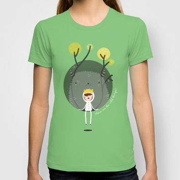 Where are the wild things? T-shirt by Maria Jose Da Luz | Society6