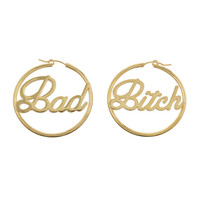 Bad Bitch Hoops (BB x Me & You)