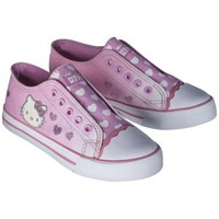 Girl's Hello Kitty Canvas Sneaker - Pink