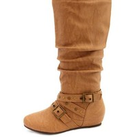 TRIPLE STRAP WEDGE BOOT