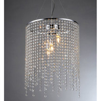 Warehouse of Tiffany Falls 1 Light Crystal Chandelier