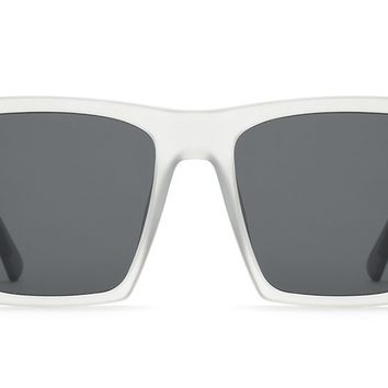 Quay - Alright White  Sunglasses / Smoke Lenses