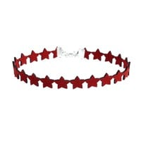 Streetstyle  Casual Stars Ribbon Choker Necklace