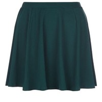 New Look Mobile | Teens Dark Green Skater Skirt
