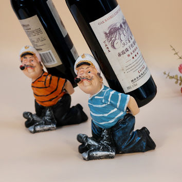 Bottle wine rack.Suit for home and office.Put the wine in right place = 4486931268