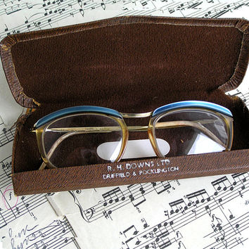 Vintage glasses with case(1980), eyeglasses, children, frame, case, vintage, Accessories, Eyewear, glasses altered, geek geekery, spooky