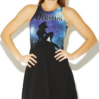 Little Mermaid Skater Dress | Wet Seal