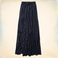 Point Dume Knit Maxi Skirt