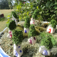 give your gnome a home 1 little fairy garden gnome home terrarium planter patio window box