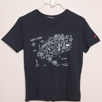 Jamie New York City Map Top - Graphics