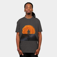 Staring Into The Illusive Sun T Shirt By FlyNebula Design By Humans