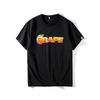 'AAPE' Couple Summer Casual Short Sleeve T-shirts [211446693900]