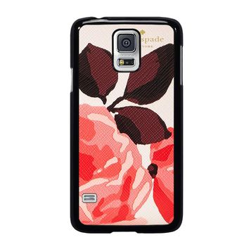 KATE SPADE CAMEROON STREET ROSES 3 Samsung Galaxy S5 Case