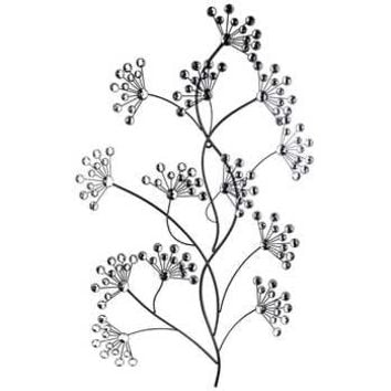 Black Metal Tree Branch Wall Decor with Gemstones | Hobby Lobby | 287490