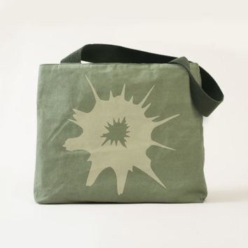 Bullet hole. tote