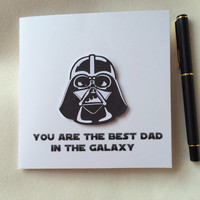 Father's Day Card, Star Wars Card, Funny Card