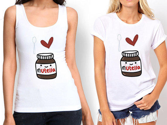 I Love Nutella Tank top , Tshirt ,T shirt from ...