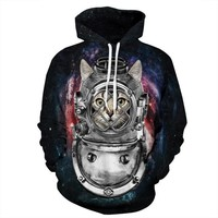 REVERIE PLANET Cat#003 UNISEX HOODIE
