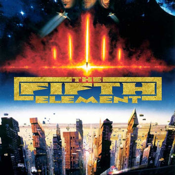 The Fifth Element 27x40 Movie Poster (1997)