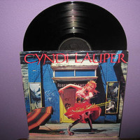 Vinyl Record Album Cyndi Lauper  She's So by JustCoolRecords