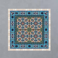 Tiles and stone mosaic wall art decor ready to hang