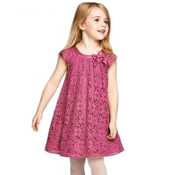 Baby Girls Casual Dresses  Children's Clothing Vestidos Infantis Toddler Girl Clothing