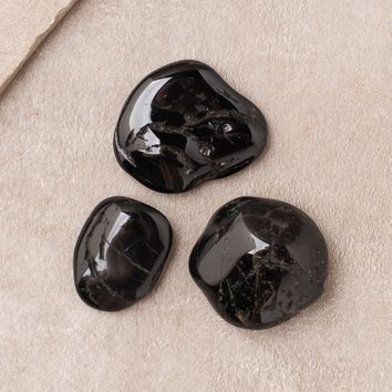 Black Tourmaline Pocket Stones