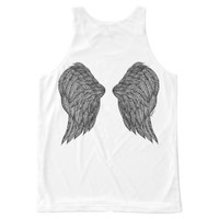 Wings on the Back Tank Top All-Over Print Tank Top