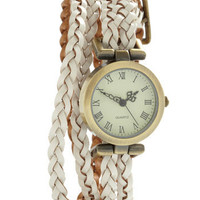 Whitewash Away the Hours Watch | Mod Retro Vintage Watches | ModCloth.com