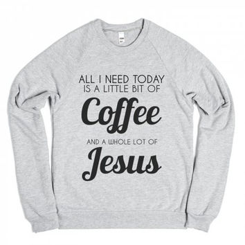 Coffee Jesus Crewneck Sweatshirt