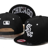 Perfect Chicago White Sox MLB hats Women Men Embroidery Sports Sun Hat Baseball Cap Hat