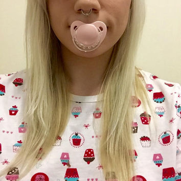 Adult Sized Pink Pacifier/Dummy For Adult Baby ABDL