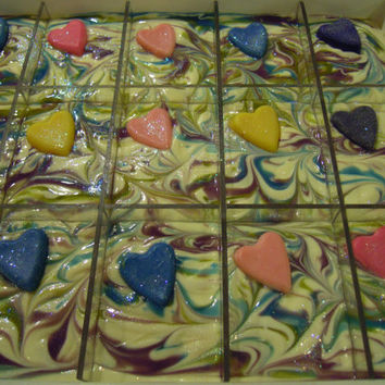 Soap Twisted Love Cold Process Handmade Coconut Milk Shea Butter Patchouili
