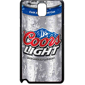 coors light silver For Samsung Galaxy Note 3 Case ***