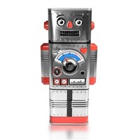 My Robot Coin Money Bank - Retro style