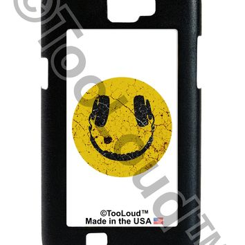 EDM Smiley Face Galaxy Note 2 Case  by TooLoud