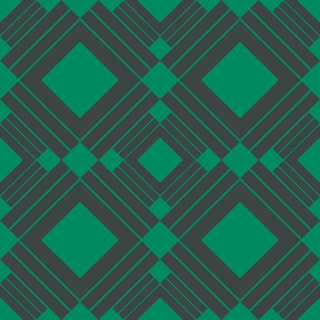 Temporary Wallpaper - Swatches - Diamond - Emerald Green