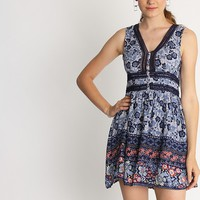 Layla Printed Dress | Ruche
