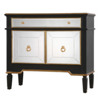 Marciel Wine Cabinet | Mirrored