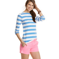 Knit Triple Stripe Top