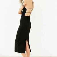 Silence + Noise Strappy Back Midi