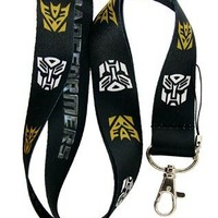Transformers Autobot & Deceptacon Lanyard Key Chain