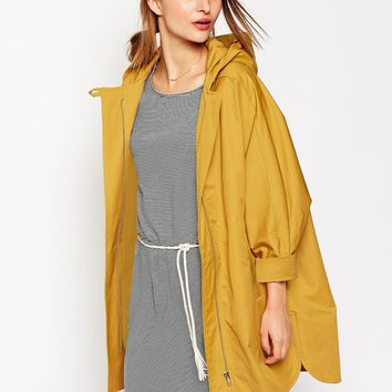 Sessun Summer Nana Hooded Parka in Ceylon Yellow
