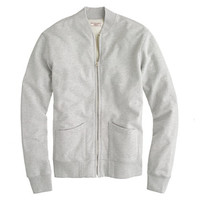 J.Crew Mens Wallace & Barnes Fleece Baseball Jacket