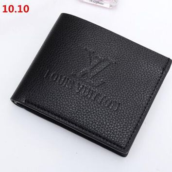 New LV Leather Wallet Poket High Quality