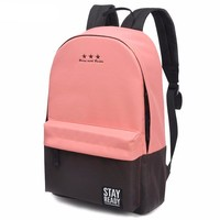 Colorful School Backpack book bag