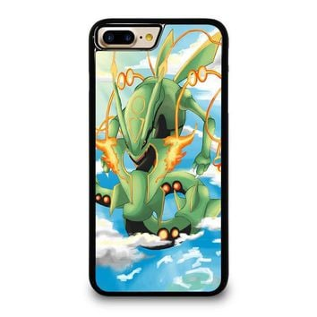 shiny rayquaza pokemon iphone 4 4s 5 5s se 5c 6 6s 7 8 plus x case  number 1